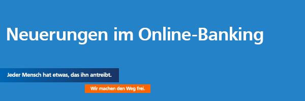 Neues Online-Banking